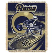 St. Louis Rams Jacquard Throw Blanket by Northwest