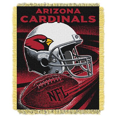 Arizona Cardinals Jacquard Throw Blanket by Northwest