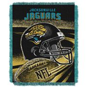 Jacksonville Jaguars Jacquard Throw Blanket by Northwest