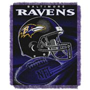 Baltimore Ravens Jacquard Throw Blanket by Northwest