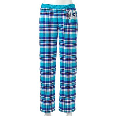 SO Embellished Fold-Over Flannel Pajama Pants - Juniors'