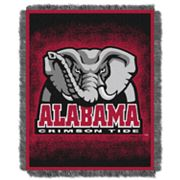 Alabama Crimson Tide Jacquard Throw Blanket by Northwest