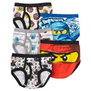 LEGO Ninjago 5-pk. Briefs - Boys 4-8