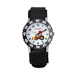 Red Balloon Kids' Time Teacher Bulldozer Watch
