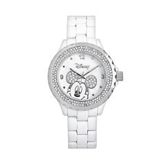 Disney's Mickey Mouse Peekaboo Women's Crystal Watch