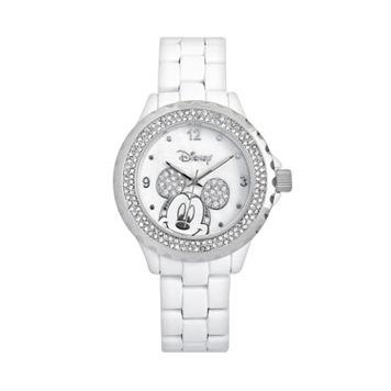 Disney's Mickey Mouse Peekaboo Women's Crystal Watch