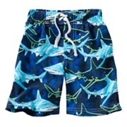Jumping Beans Shark Swim Trunks - Toddler