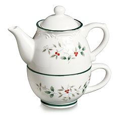 Pfaltzgraff Winterberry Tea For One Teapot