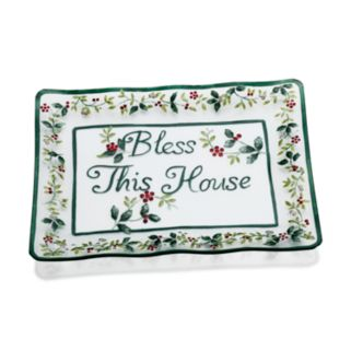 Pfaltzgraff Winterberry ''Bless This House'' Platter