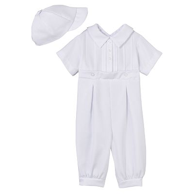 Little Things Mean a Lot Pintuck Coveralls - Baby