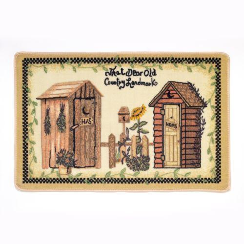 Avanti Outhouses Bath Rug