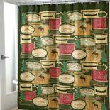 Avanti Rather Be Fishing Fabric Shower Curtain