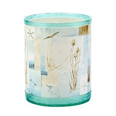 Avanti Blue Waters Wastebasket by