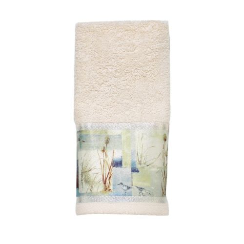 Avanti Blue Waters Fingertip Towel