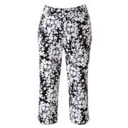 Croft and Barrow Essential Printed Capris