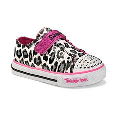 Skechers Twinkle Toes Lil Wild Light-Up Shoes - Toddler Girls