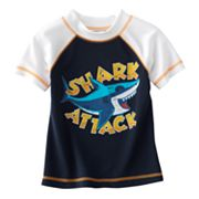 Jumping Beans Shark Attack Rash Guard - Toddler