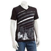 Apt. 9 City Stripes V-Neck Tee