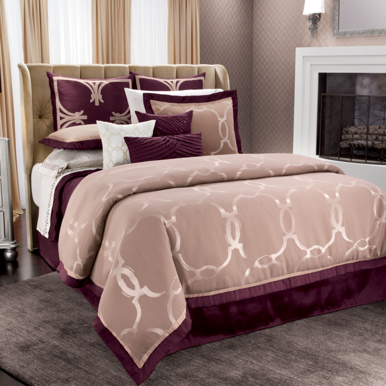 Jennifer Lopez Bedding Collection Astor Place 4 Pc Comforter