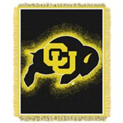 Colorado Buffaloes Jacquard Throw Blanket by Northwest