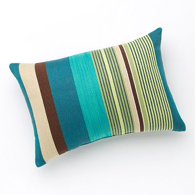 SONOMA life + style Alameda Cool Stripe Decorative Pillow