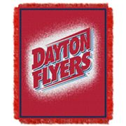 Dayton Flyers Jacquard Throw Blanket by Northwest