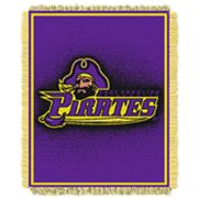 East Carolina Pirates Jacquard Throw Blanket by Northwest
