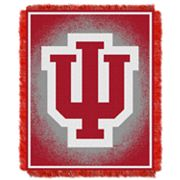 Indiana Hoosiers Jacquard Throw Blanket by Northwest