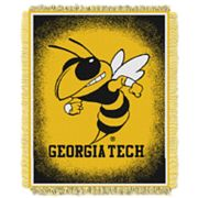 Georgia Tech Yellow Jackets Jacquard Throw Blanket by Northwest