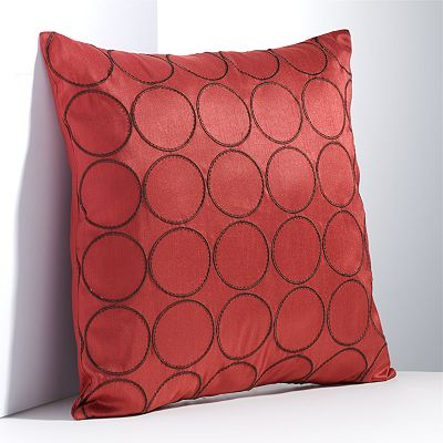 Simply Vera Vera Wang Spring Poppy Square Decorative Pillow