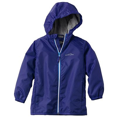 Eddie Bauer Solid Windbreaker - Boys 4-7
