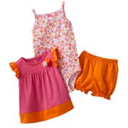 Carter's Floral Bodysuit Set - Baby