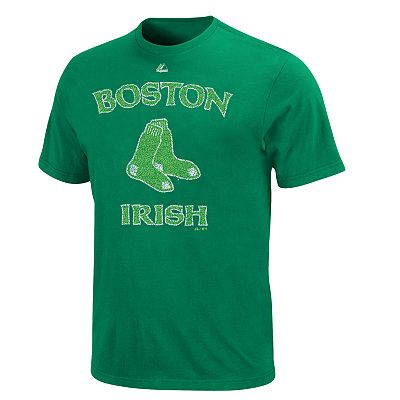 Majestic Boston Red Sox Irish Tee - Men