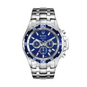 Bulova Marine Star Stainless Steel Chronograph Watch - 98B163 - Men