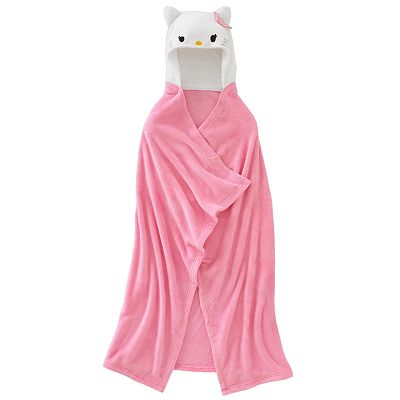 Hello Kitty Hooded Wrap - Girls 4-16