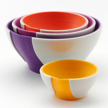 Food Network™ 4-pc. Nesting Prep Bowl Set