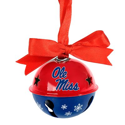 Ole Miss Rebels Bell Ornament