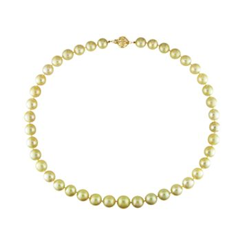 14k Gold South Sea Cultured Pearl Necklace