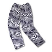 Zubaz Athletic Pants - Navy and Silver