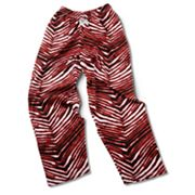 Zubaz Athletic Pants - Red and Black