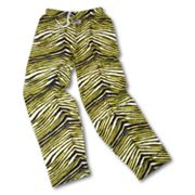 Zubaz Athletic Pants - Blue and Maize