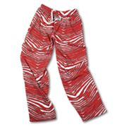 Zubaz Athletic Pants - Red and Gray