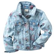 Mudd Floral Denim Jacket - Girls 4-6x