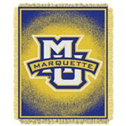Marquette Golden Eagles Jacquard Throw Blanket by Northwest