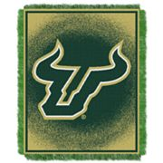 South Florida Bulls Jacquard Throw Blanket by Northwest