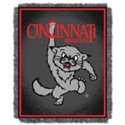 Cincinnati Bearcats Jacquard Throw Blanket by Northwest