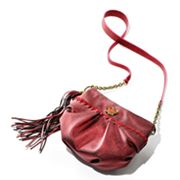 Princess Vera Wang Adele Glitter Cross-Body Hobo