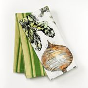 SONOMA life + style Green Veggies 2-pk. Kitchen Towels