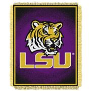 LSU Tigers Jacquard Throw Blanket by Northwest