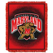 Maryland Terrapins Jacquard Throw Blanket by Northwest